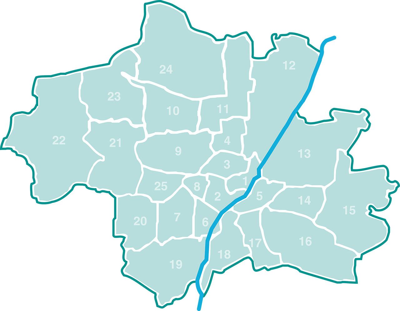 Karte Einrichtungen